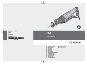 BOSCH Säbelsäge PSA900E mieten - Bedienungsanleitung herunterladen