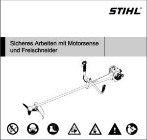 Bedienungsanleitung Motorsense Rasentrimmer mieten - FS360 STIHL