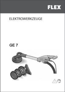 Bedienungsanleitung downloaden - Schleifgiraffe Flex GE-7