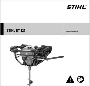 Gebrauchsanweisung Erdbohrer Erdbohrgerät STIHL BT 121 downloaden