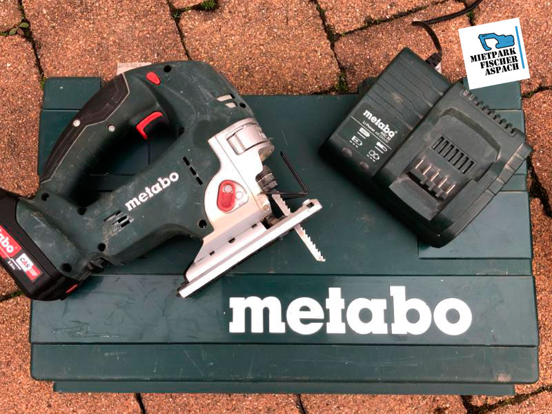 Stichsäge mieten - METABO -bei Mietpark Fischer Aspach