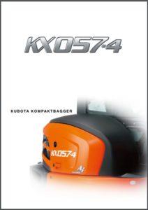 Minibagger mieten - jetzt Broschüre zum Kubota KX057 herunterladen