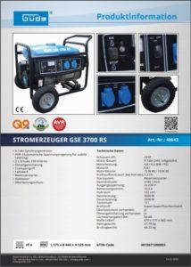 Stromerzeuger mieten - Prospekt herunterladen - Mietpark Fischer Aspach