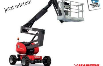 Arbeitsbühne Gelenkarbeitsbühne Schere mieten bei Mietpark Fischer Aspach und Backnang